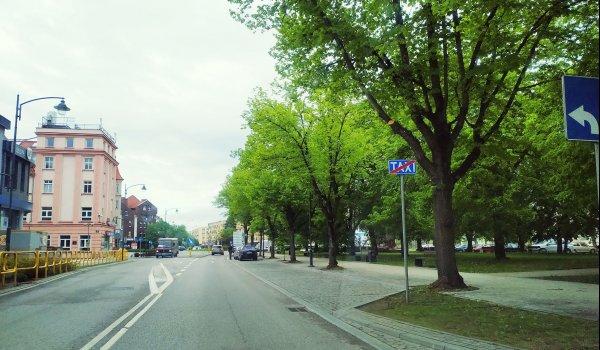 Konflikt o parkingi na placu Grunwaldzkim.