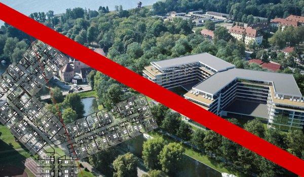Hotel na 1000 miejsc przy Kanale Łuczańskim nie powstanie!